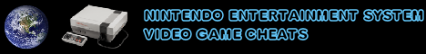 Nintendo Entertainment System Cheats