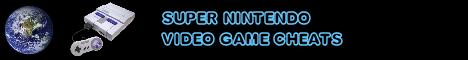 Super Nintendo Cheats